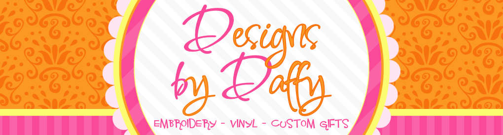 Designs by Daffy Embroidery and Rhinestone